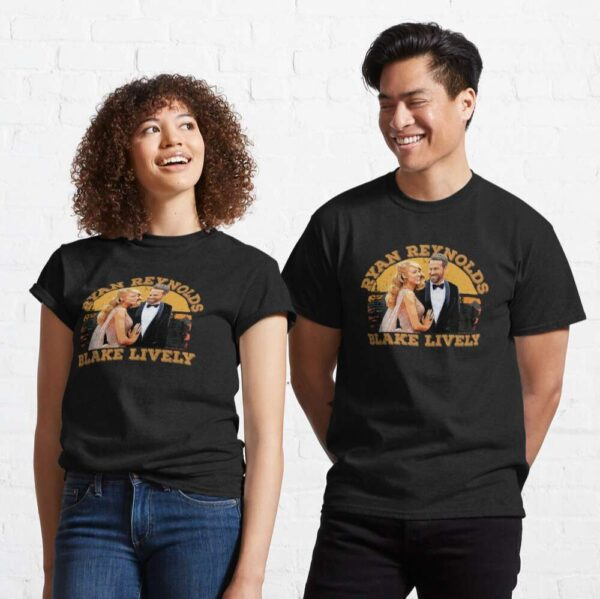 Blake Lively Lovely Couple Classic Unisex T Shirt