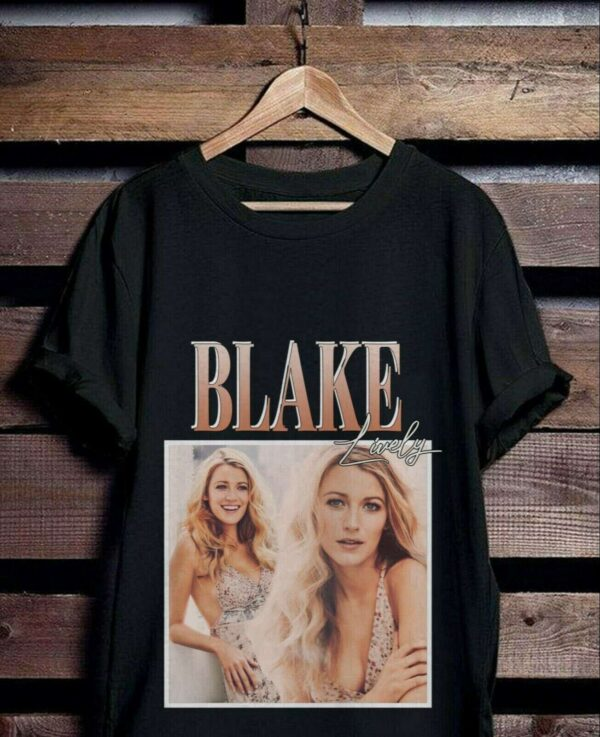Blake Lively Vintage Classic Unisex T Shirt