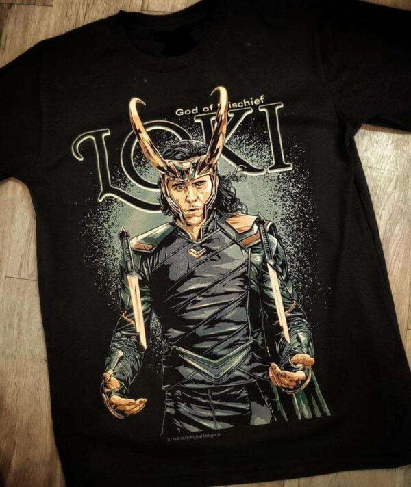 Loki Prince of Asgard Loki God of Mischief Classic T Shirt