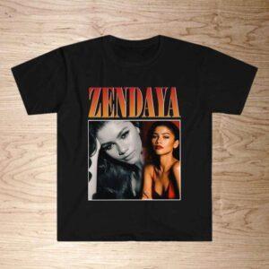 Zendaya Vintage Retro Style Classic T Shirt