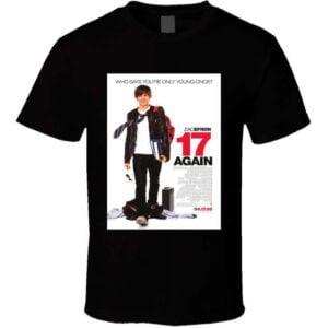 17 Again Zac Efron Matthew Perry T Shirt