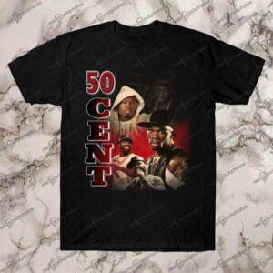 50 Cent Vintage Retro Style T Shirt