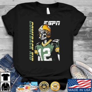 Aaron Rodgers Green Bay Packers Unisex T Shirt