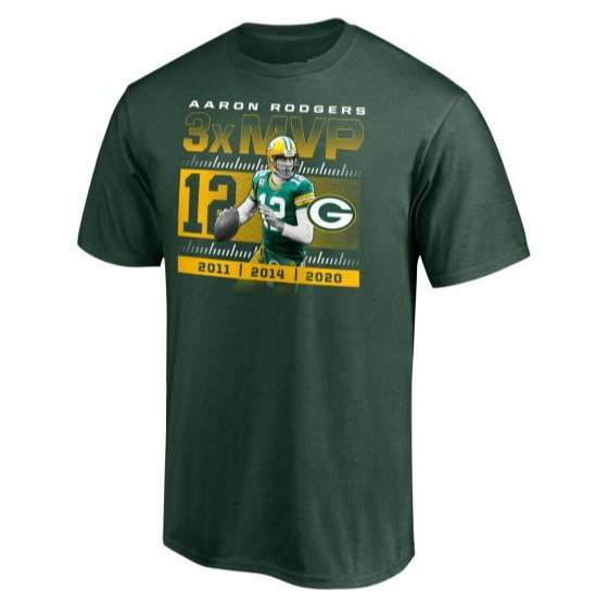 Aaron Rodgers MVP Packers T Shirt