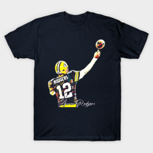 Aaron Rodgers Signature T Shirt