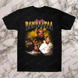 Afrika Bambaataa Vintage Retro Style Rap 90s T Shirt