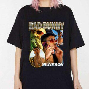 Bad Bunny Playboy Vintage Shirt