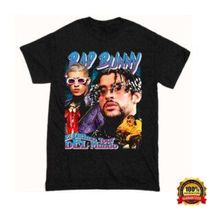 Bad Bunny Rap Tour Vintage Shirt