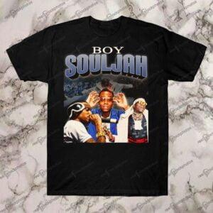 Boy Souljah Vintage Retro Style Rap T Shirt