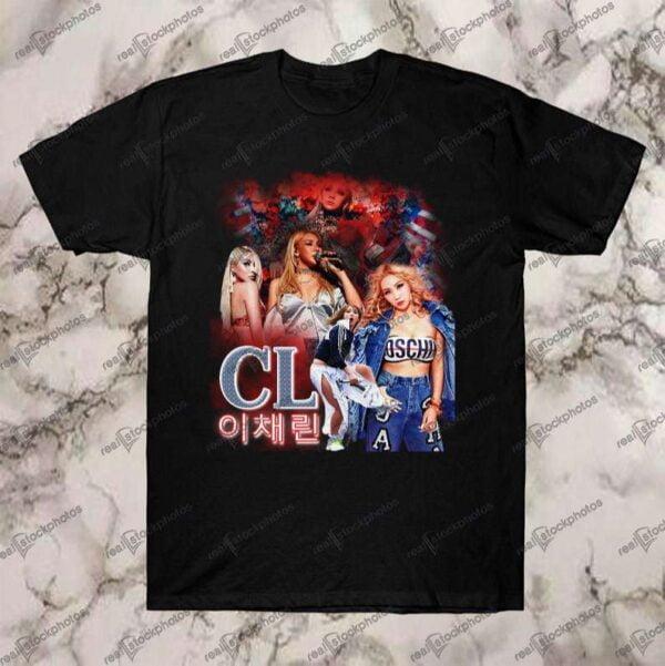 CL Vintage Retro Style Rap Hip Hop T Shirt