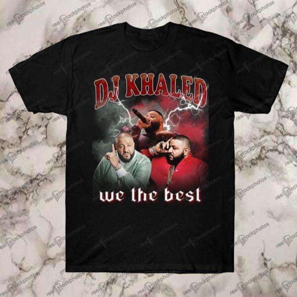 DJ Khaled We The Best Vintage Retro Style Rap Hip Hop T Shirt
