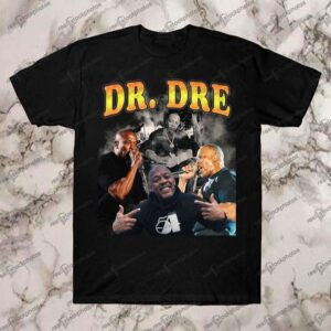DR Dre Vintage Retro Style Rap 90s T Shirt
