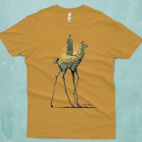Dali Llama Dalai Lama Surreal Art T Shirt