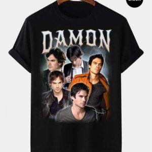 Damon Salvatore Vintage Retro T Shirt