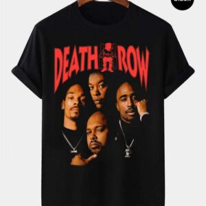 Death Row Records Vintage Retro T Shirt