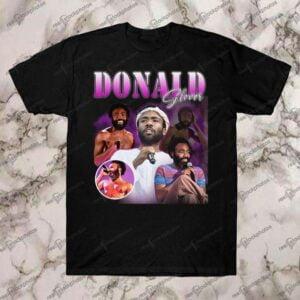 Donald Glover Vintage Retro Style Rap Hip Hop T Shirt