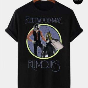 Fleetwood Mac Rumours Vintage Retro T Shirt