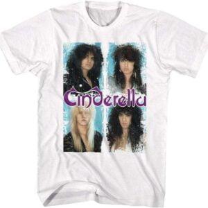 Jeff LaBar Cinderella Band T Shirt