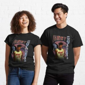 Jimmy Buckets Miami Heat Vintage Style T Shirt