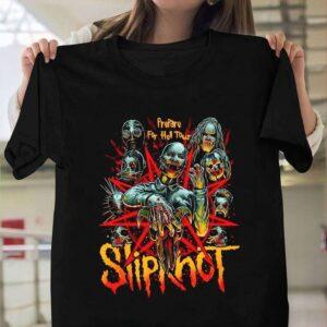 Joey Jordison Slipknot Rock Metal Band T Shirt