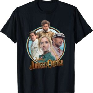 Jungle Cruise Characters And Movie T Shirt