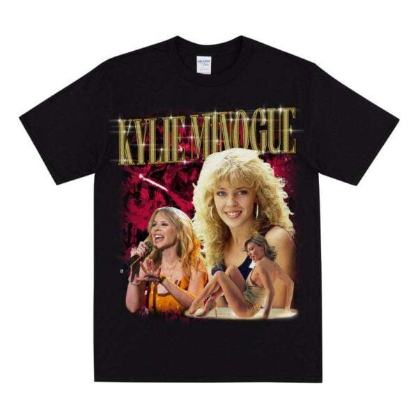 Kylie Minogue Vintage Unisex T Shirt