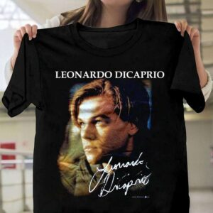 Leonardo Dicaprio Movie Titanic T Shirt