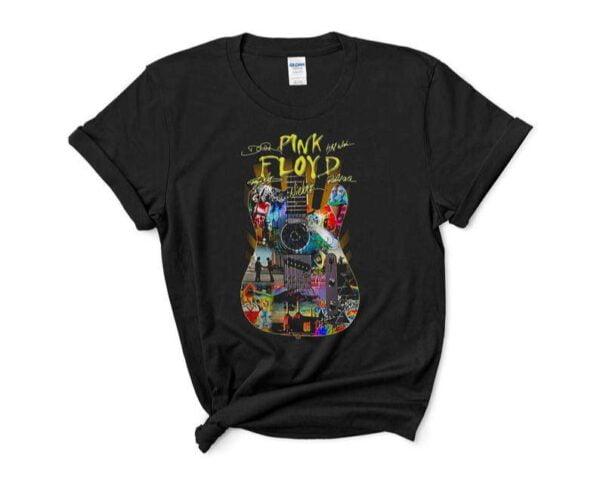 Pink Floyd Guitar Signature T Shirt