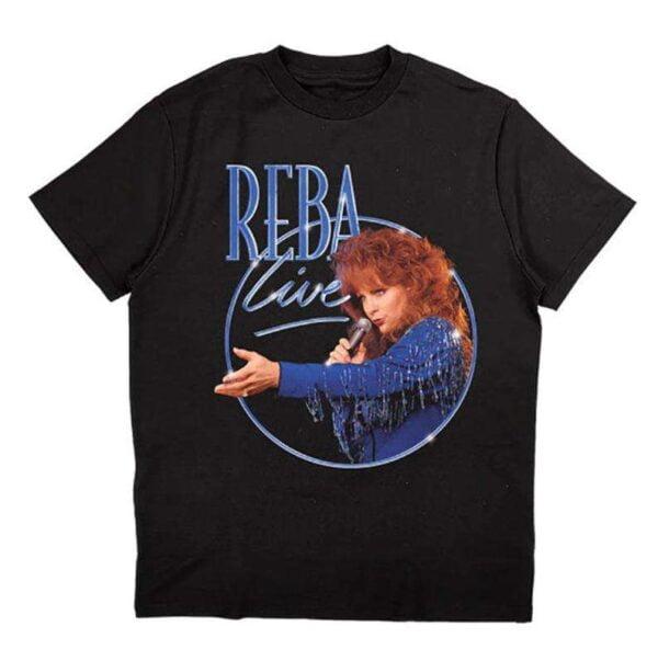 Reba Live Reba Mcentire T Shirt