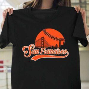 San Francisco Baseball Skyline T Shirt