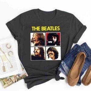 The Beatles Character T Shirt
