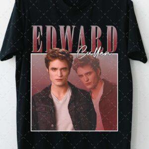 Vintage Edward Cullen Robbert Pattinson T Shirt Twilight