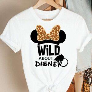Wild About Disney T Shirt