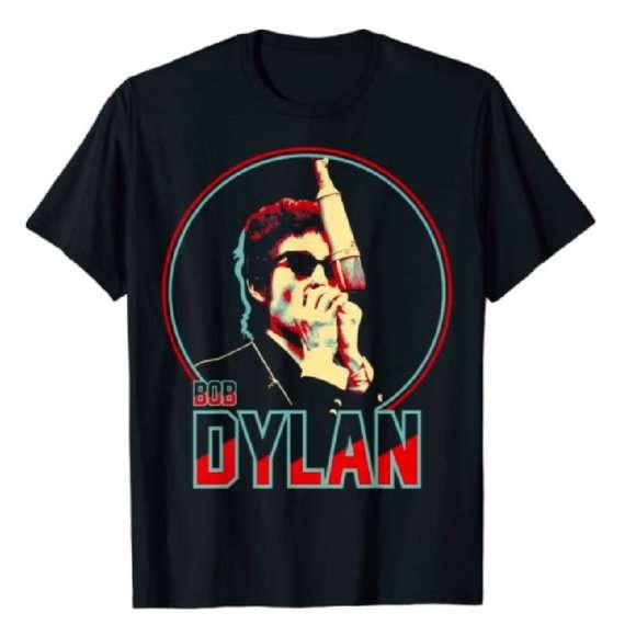 Bob Dylan Vintage 90s T Shirt