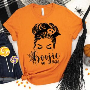 Boojie Mom Halloween Shirt