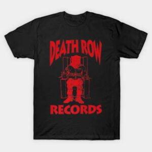 Death Row Records Logo T Shirt