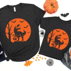 Halloween Dinosaur Family Shirt