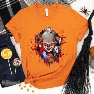 Halloween Horror Characters Shirt