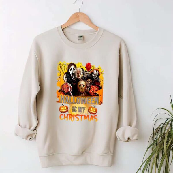 Halloween Horror Movie Killers Sweatshirt Scary Friends T Shirt