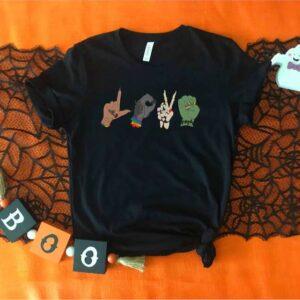 Halloween Monster Love LGBT Halloween Shirt