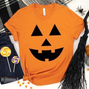 Halloween Pumpkin Face Shirt