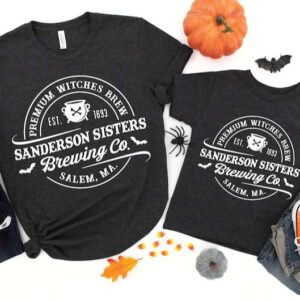 Halloween Shirt Sanderson Sisters Witches Brewing Co