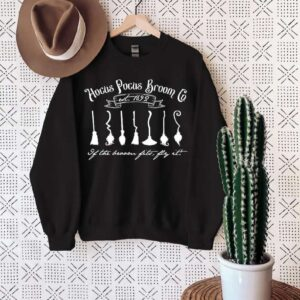 Hocus Pocus Broom Co Halloween Sweatshirt T Shirt
