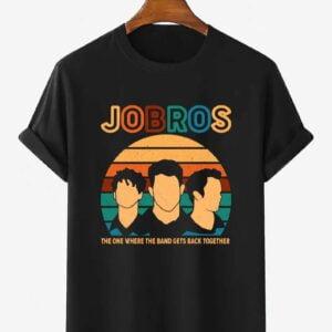 Jonas Brothers Band Happiness Begins Tour Shirt