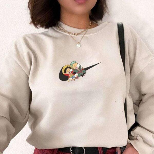 Luffy And Zoro Sweatshirt Unisex T Shirt