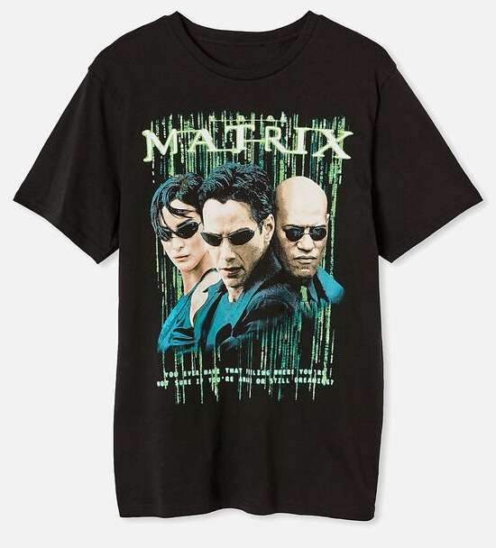 Matrix Movie T Shirt