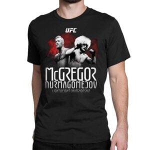 Mcgregor Vs Nurmagomedov UFC Unisex Shirt