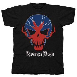Reverse Flash Skull Comics T Shirt
