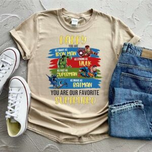 Superhero Dad Shirt