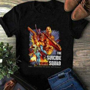 The Suicide Squad 2021 Movie T Shirt